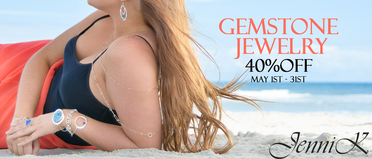 40% off Gemstone Jewelry