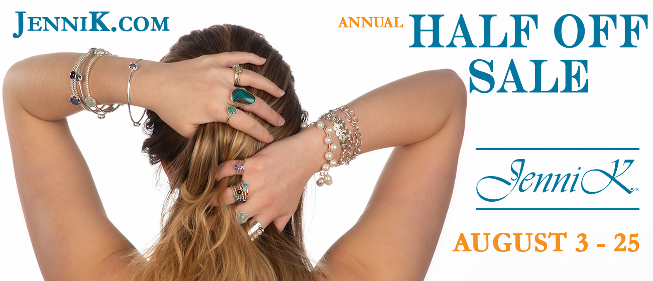 Annual Half Off Sale - August 3rd thru August 31st