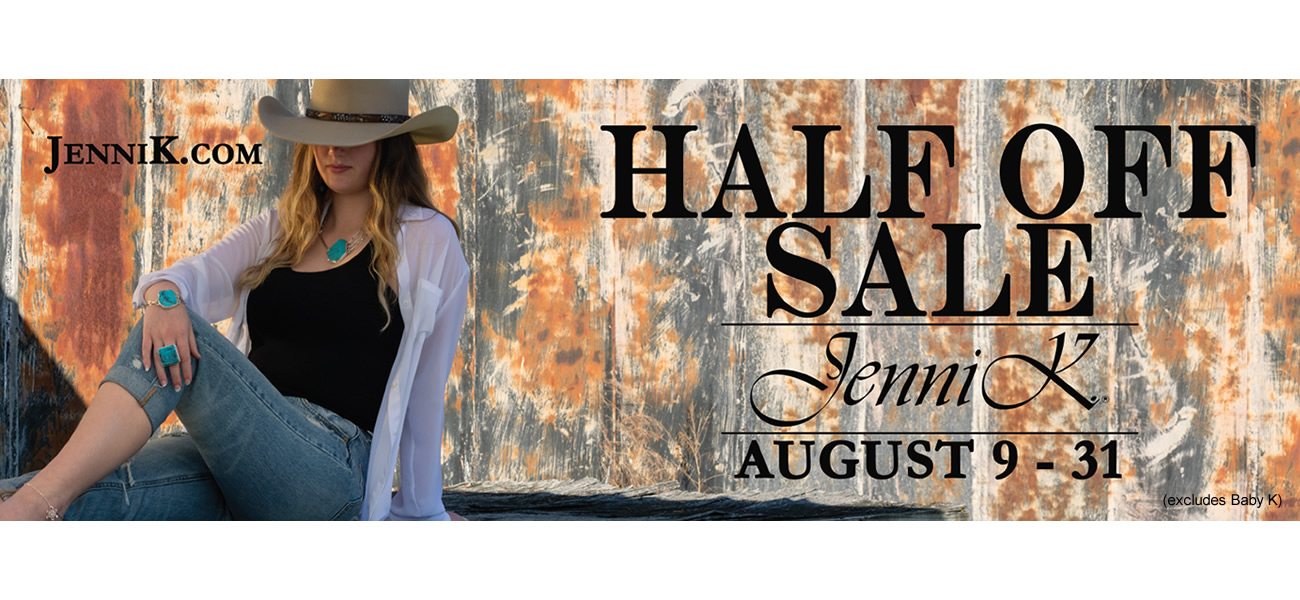 Annual Half Off Sale - Click Here!