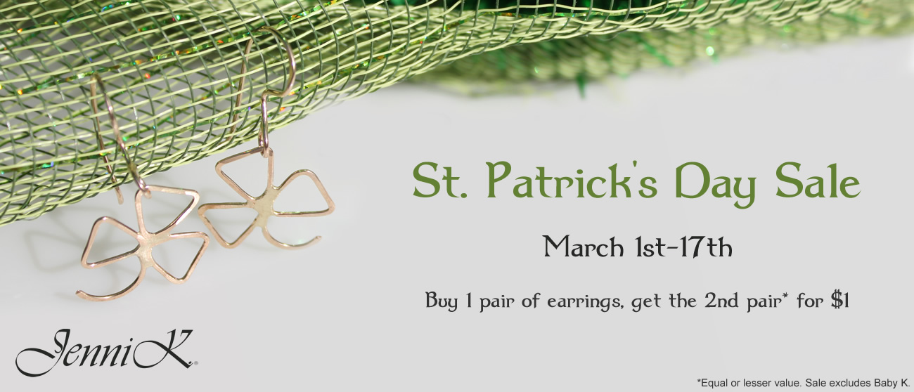St. Patrick's Day Sale - March 1st-17th